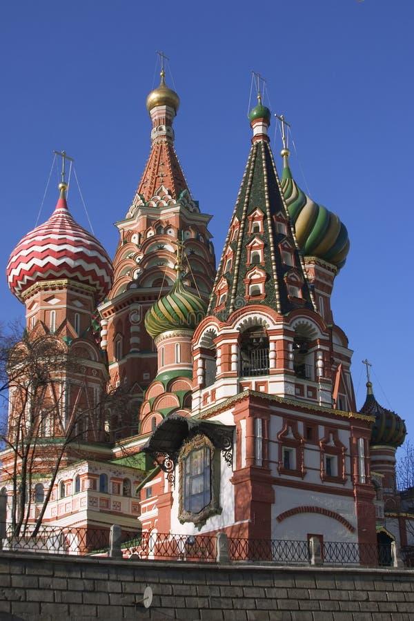 St. De Kathedraal Van Het Basilicum (het Kremlin, Moskou, Rusland) Royalty-vrije Stock Afbeeldingen