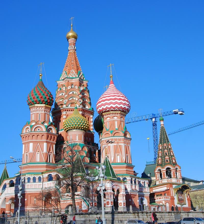 Download St. De Kathedraal Van Het Basilicum, Rood Vierkant, Moskou, Rusland. Redactionele Fotografie - Afbeelding bestaande uit cultuur, christendom: 29501422