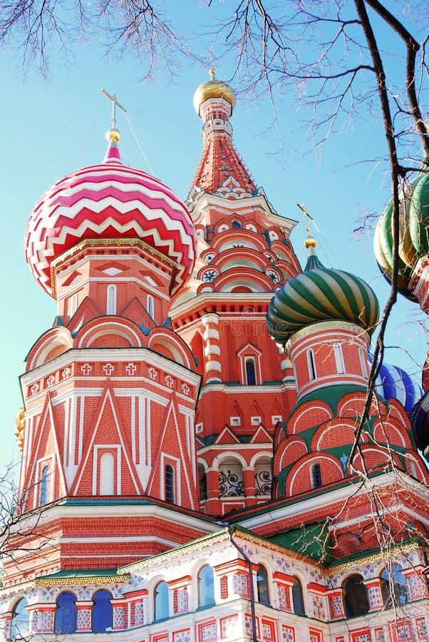 Download St. De Kathedraal Van Het Basilicum, Rood Vierkant, Moskou, Rusland. Stock Afbeelding - Afbeelding bestaande uit basilicum, geschiedenis: 29501659