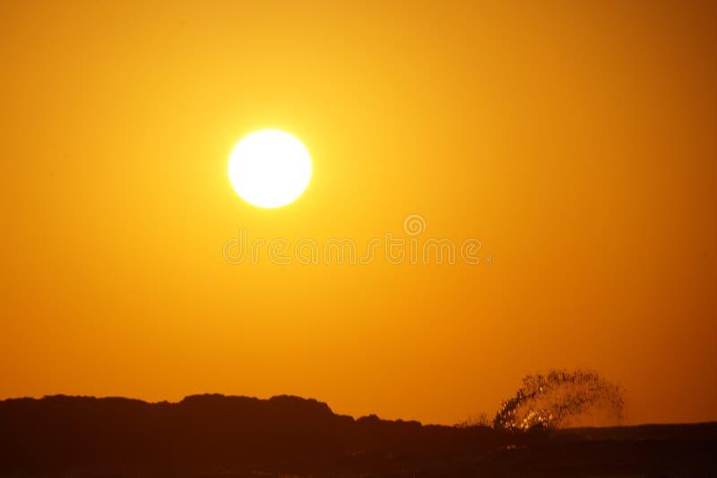 St de la puesta del sol foto de archivo