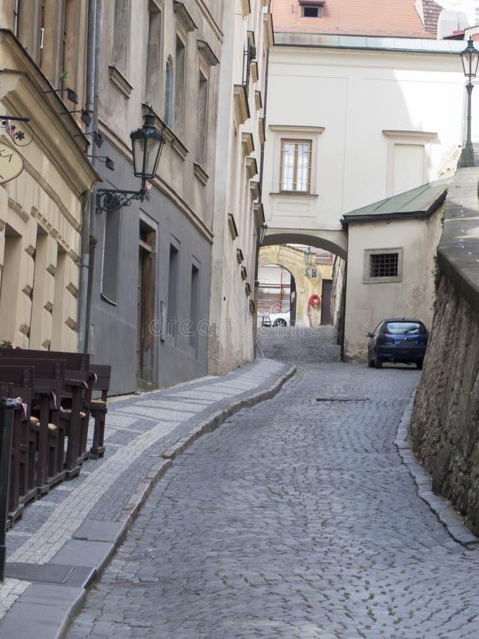 St del ¡de ThunovskÃ, Praga fotografía de archivo libre de regalías