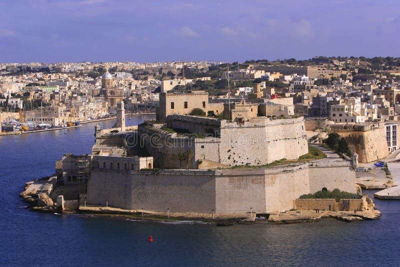 St della fortificazione Angelo, Malta (#2) immagine stock