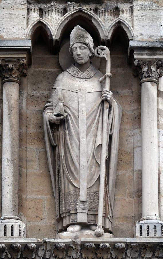 St Denis, собор Нотр-Дам, Париж стоковые фотографии rf
