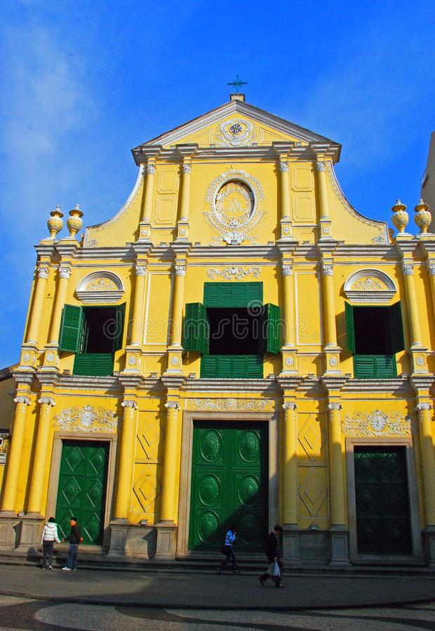 St Dominic Church, Macao immagine stock