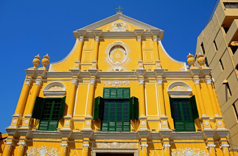 St Dominic Church, Macau fotografia de stock