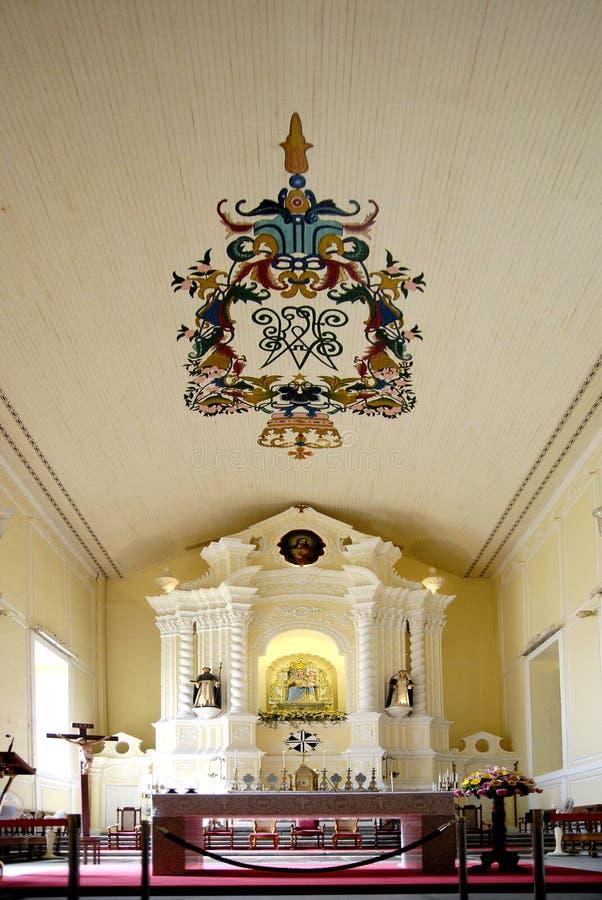 St.DOMINIC KERK MACAO royalty-vrije stock afbeeldingen