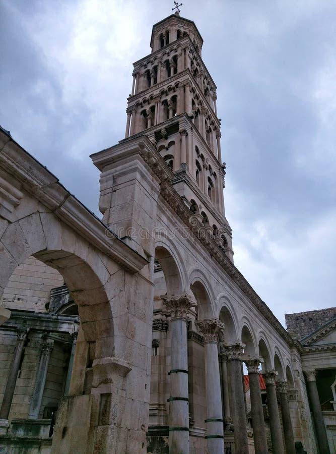 St Domnius Chatedral 免版税图库摄影