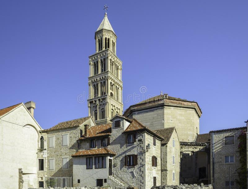 St Domnius katedra zdjęcia royalty free