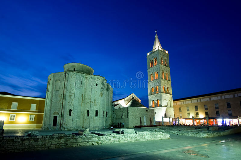 Download St.Donatus Church Under The Green Light Stock Photo - Image: 20811810