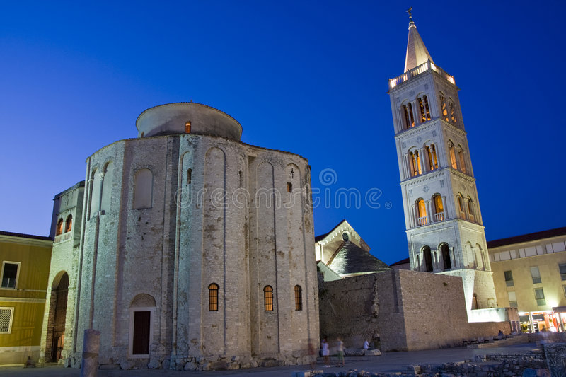 St. Donatus in Zadar stock photography