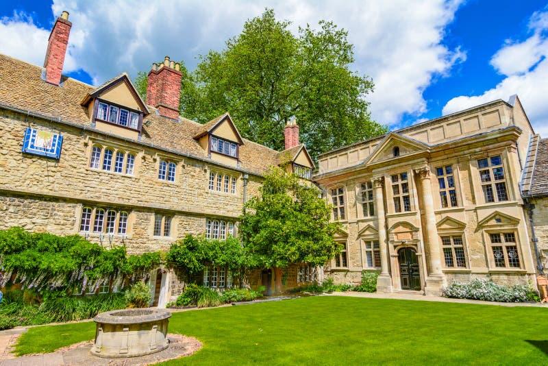 St Edmund Hall, Universiteit, de Universiteit van Oxford, Cotswolds, Engeland royalty-vrije stock foto's
