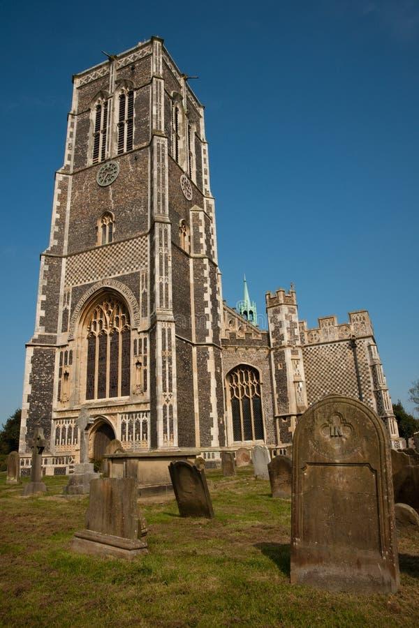 St. Edmund's church stock images