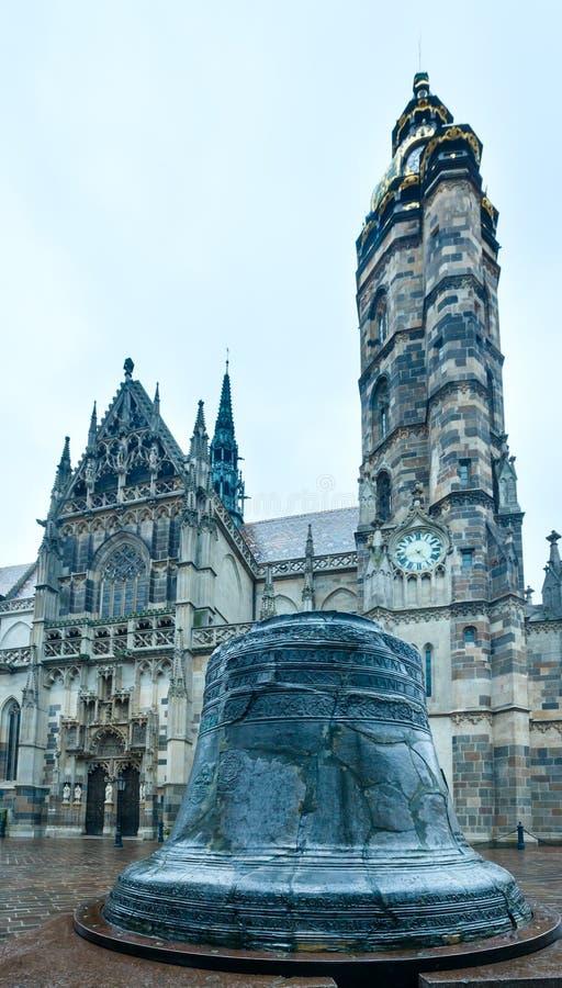 St. Elisabeth Cathedral (Kosice, Slovakien) royaltyfri foto