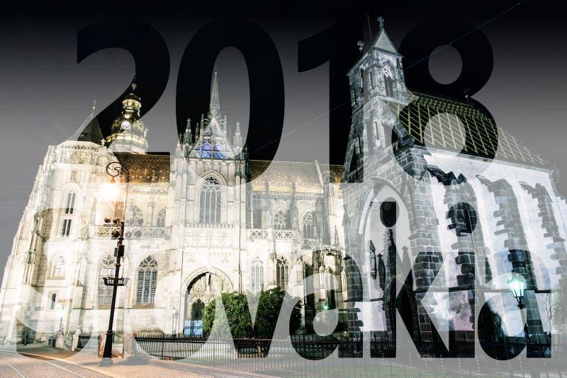 St Elisabeth katedra i St Michael kaplica w Kosice, PF 201 obrazy royalty free