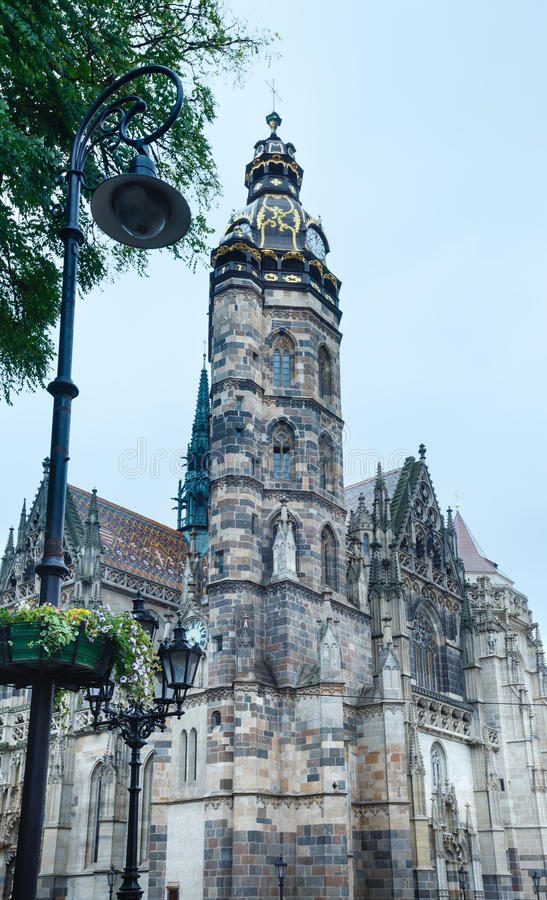St Elisabeth katedra Kosice, Sistani (,) zdjęcie stock