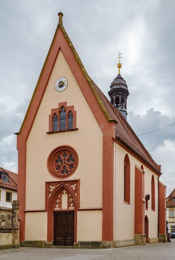 St Elisabeth kościół, Bamberg, Niemcy zdjęcie stock