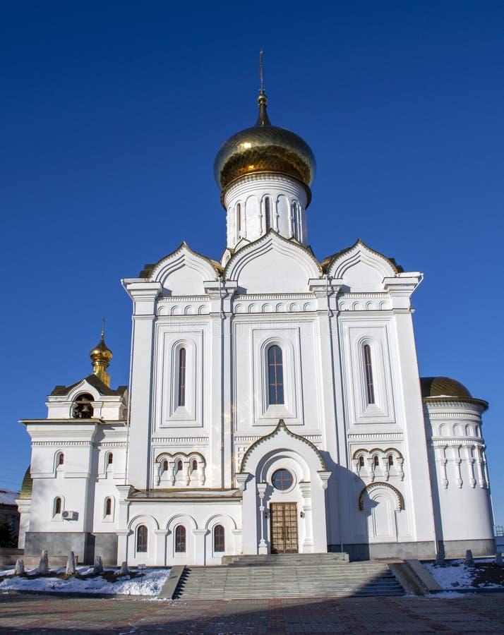 St Elisabeth Orthodox Church Ryssland royaltyfria foton