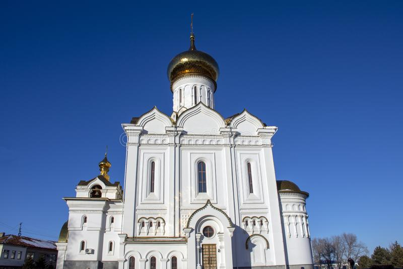 St Elisabeth Orthodox Church Ryssland fotografering för bildbyråer