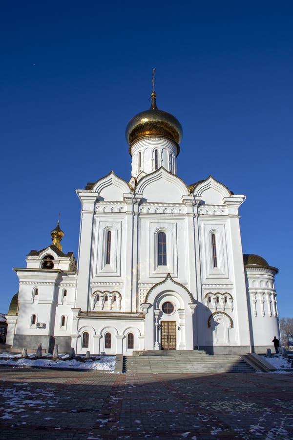 St Elisabeth Orthodox Church Ryssland arkivbilder