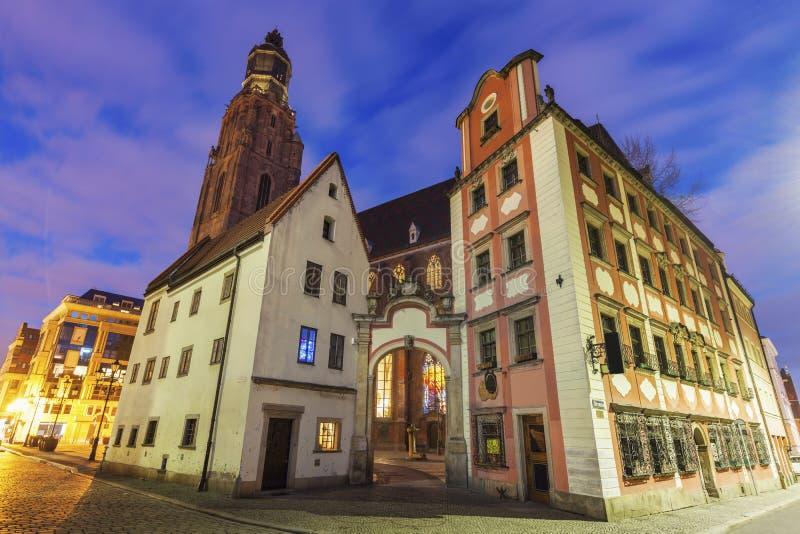 St Elisabeth ` s kościół w Wrocławskim fotografia stock