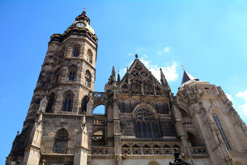 St Elizabeth Cathedral, Kosice, Slovacchia fotografie stock