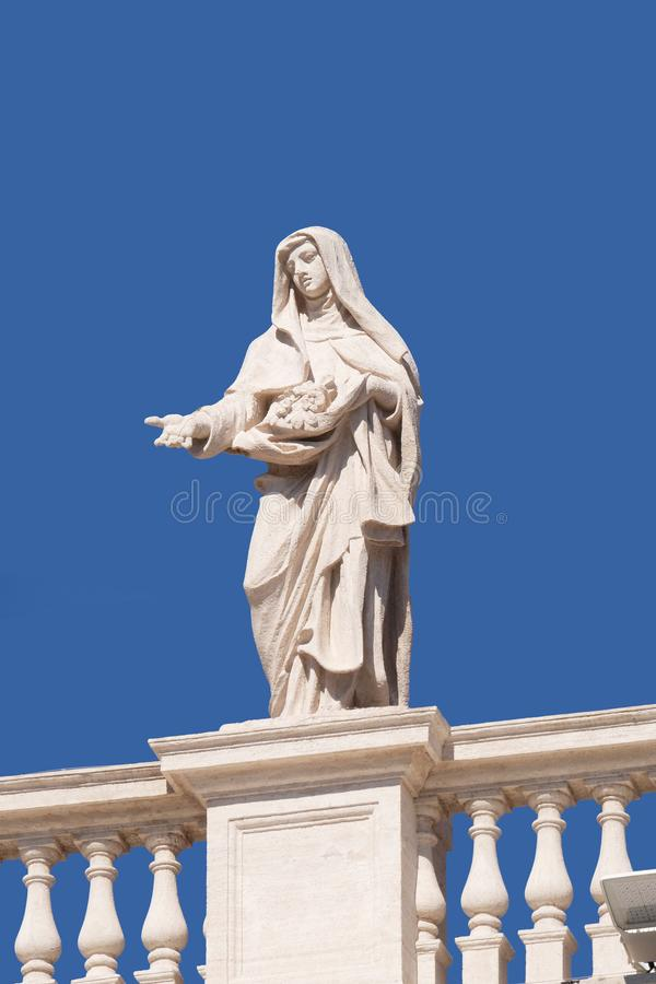 St Elizabeth du Portugal images libres de droits