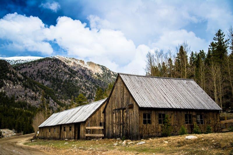 St Elmo Colorado Ghost Town fotos de archivo libres de regalías