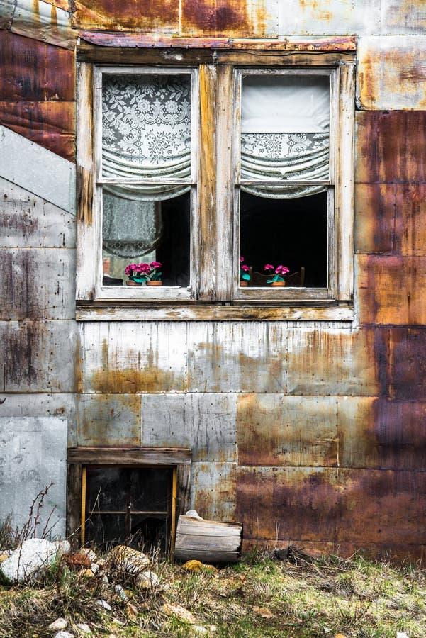 St Elmo Colorado Ghost Town - edificios abandonados imágenes de archivo libres de regalías