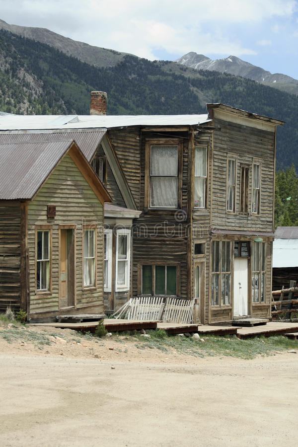 Free St. Elmo Ghost Town Royalty Free Stock Photo - 14959565
