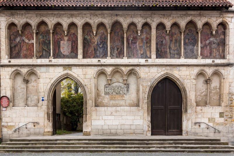St Emmeram教会雷根斯堡德国 库存图片