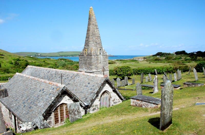 St Enodoc Church 1 stock images