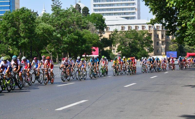 1st Europese Spelen, Baku, Azerbeidzjan royalty-vrije stock foto's