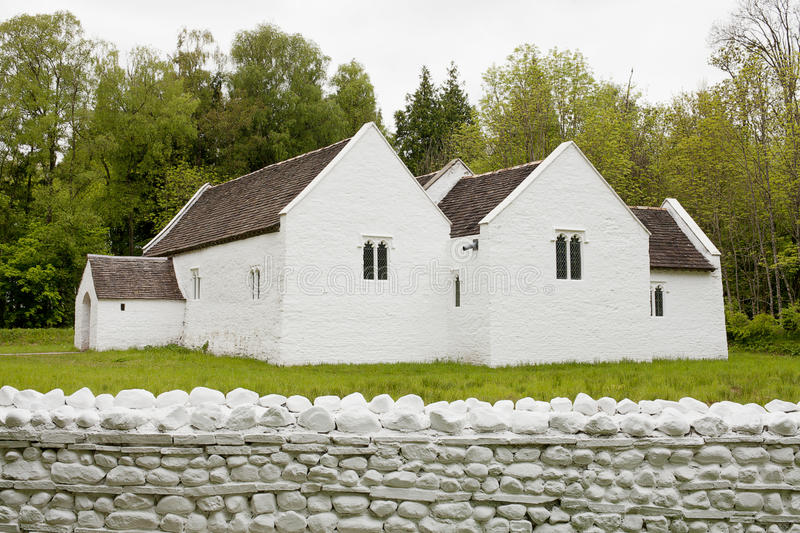 St Fagans: National History Museum. Near Cardiff, Wales. St Fagans is one of Europe's foremost open air museums and Wales's most visited heritage attraction stock photo