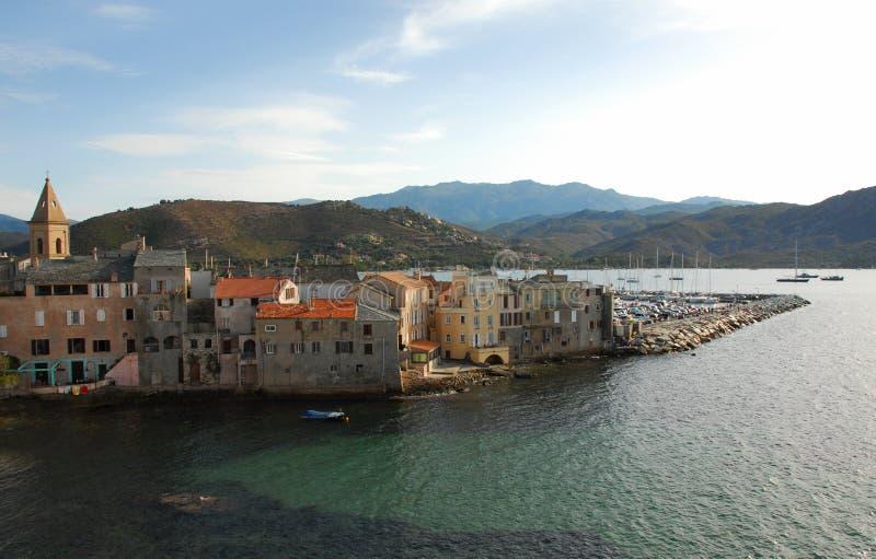 St Florent, Corsica Stock Photography