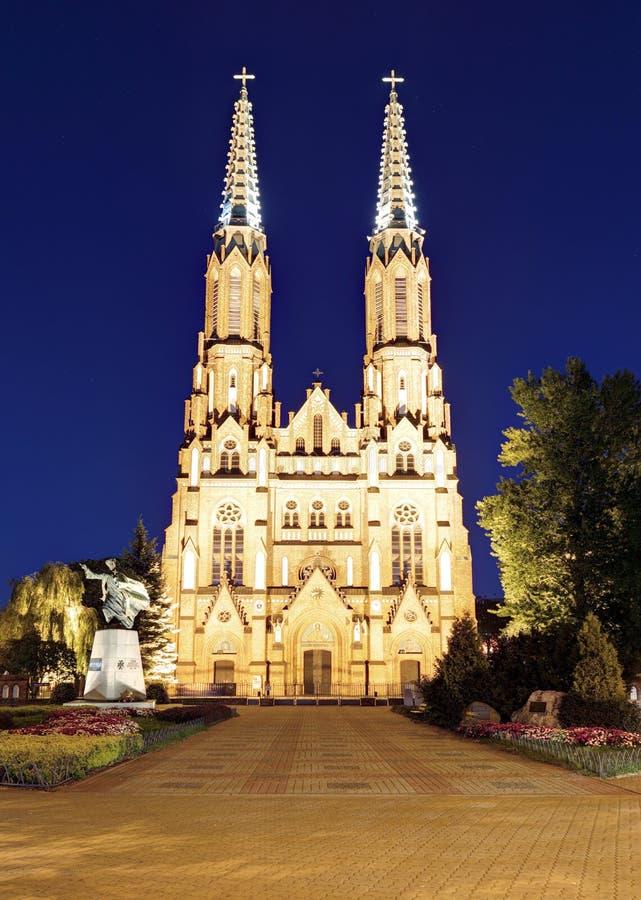 St Florian& x27; catedral de s em Varsóvia imagem de stock