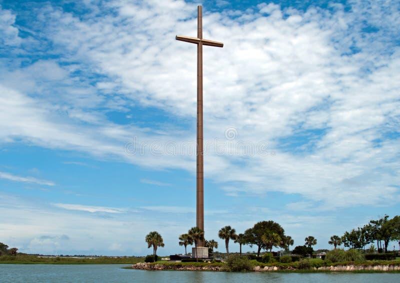 st florida augustine большой перекрестный стоковая фотография