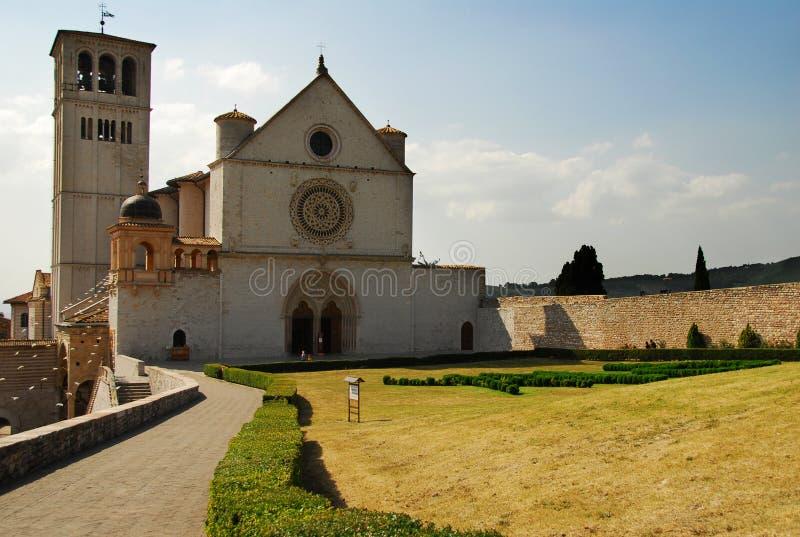 st francis церков assisi стоковые изображения rf