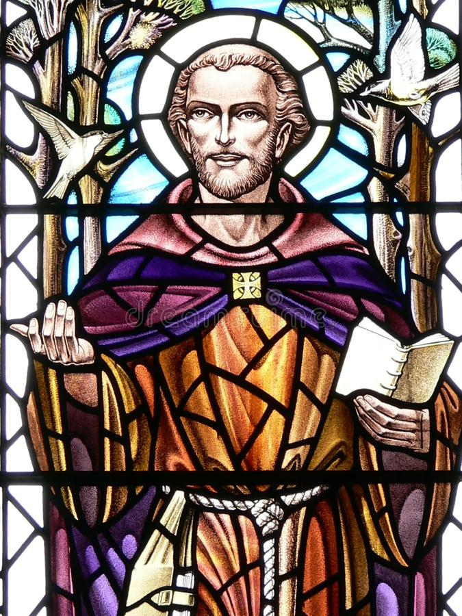 St Francis royaltyfria foton