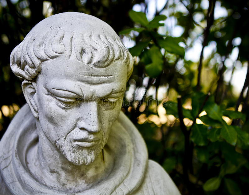 ST Francis Assisi στοκ εικόνες