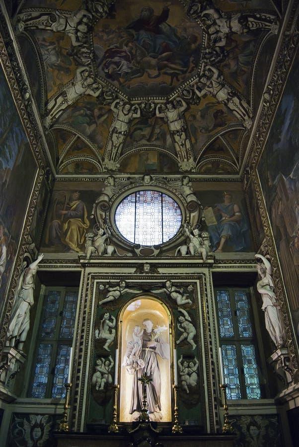 St. Francis Assisi ołtarz obraz royalty free