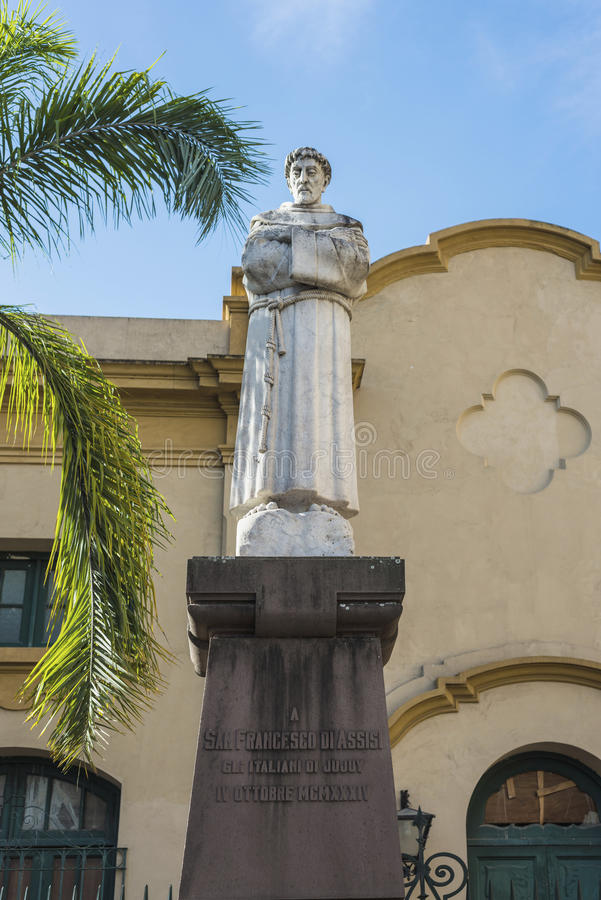 Download St. Francis Of Assisi Statue In Jujuy, Argentina. Stock Photo - Image of north, friar: 39505948