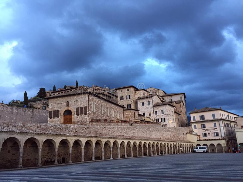St Francis Basilica fotos de stock