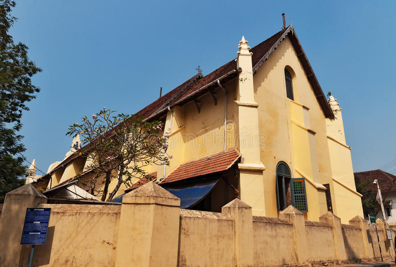 St. Francis Church in Fort Kochi. St. Francis Church is the oldest European church in India. Fort Kochi. Kerala stock images