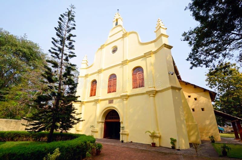 St. Francis Church. In Kochi,India royalty free stock image