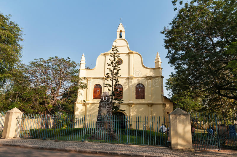 St Francis Church no forte Kochi imagem de stock royalty free