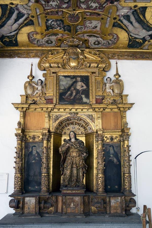 St. Francis klasztor w Quito i kościół, Ekwador zdjęcia stock