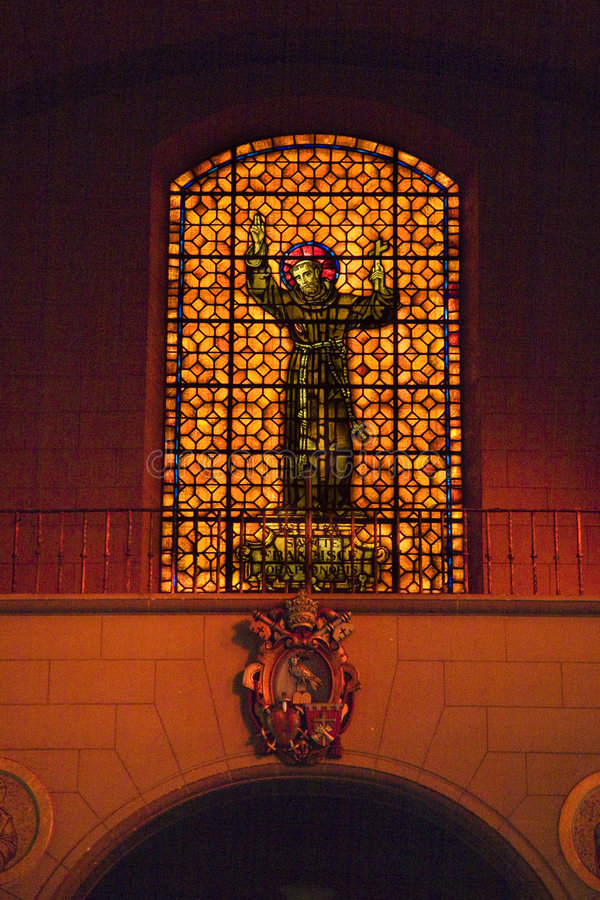St Francis Stained Glass Mission San Francisco