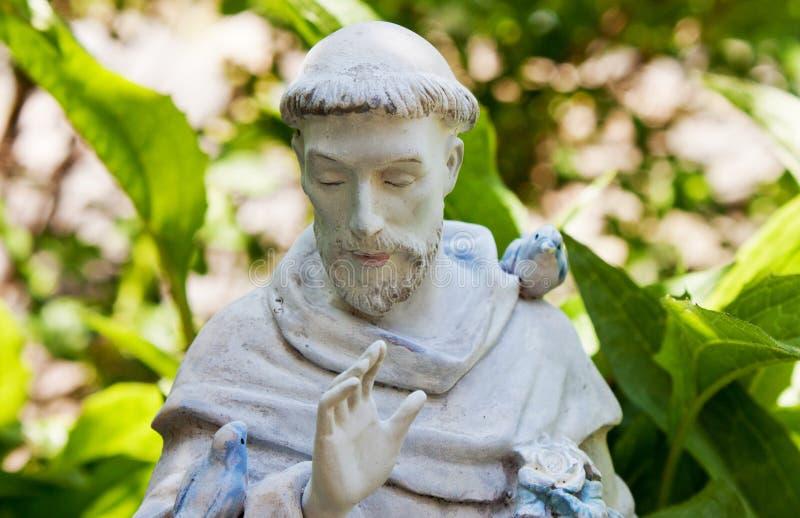 St. Francis van Assisi stock afbeeldingen
