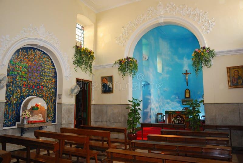 St. Francis Xaver Church, Colona, Macao Stock Photography