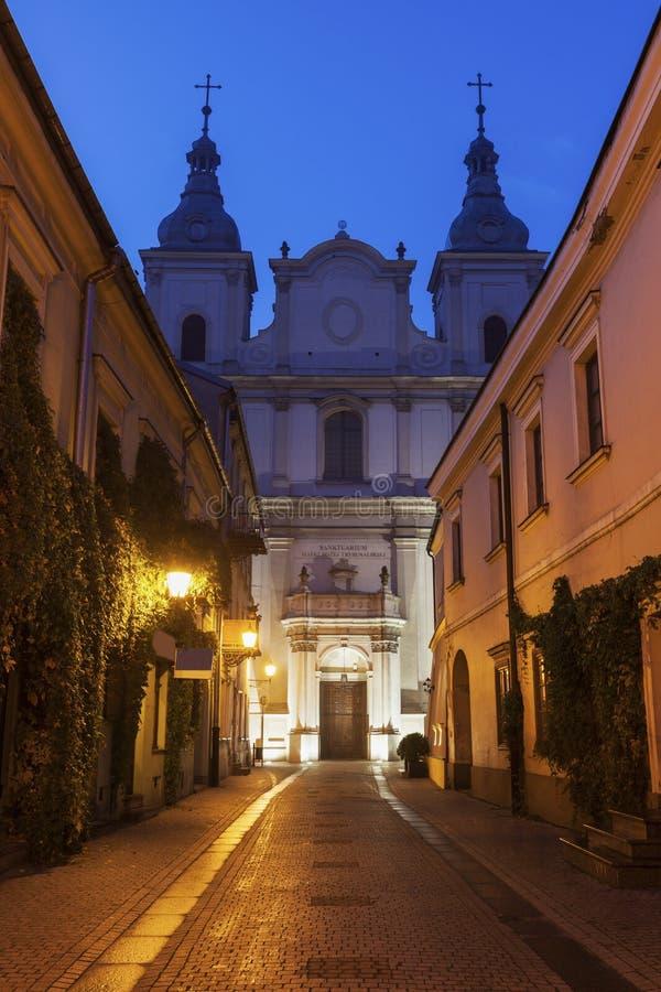 St Francis Xavery Church en Piotrkow imagen de archivo